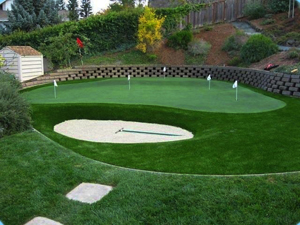 Synthetic Putting Green Turf, Designed To Enhance Play Performance.  Available To Buy From NexGen Lawns.