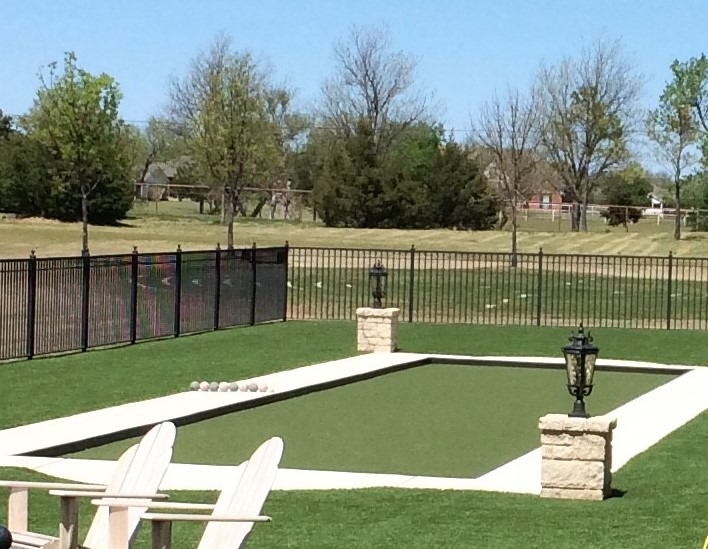 Artificial Turf for Bocce Ball Court