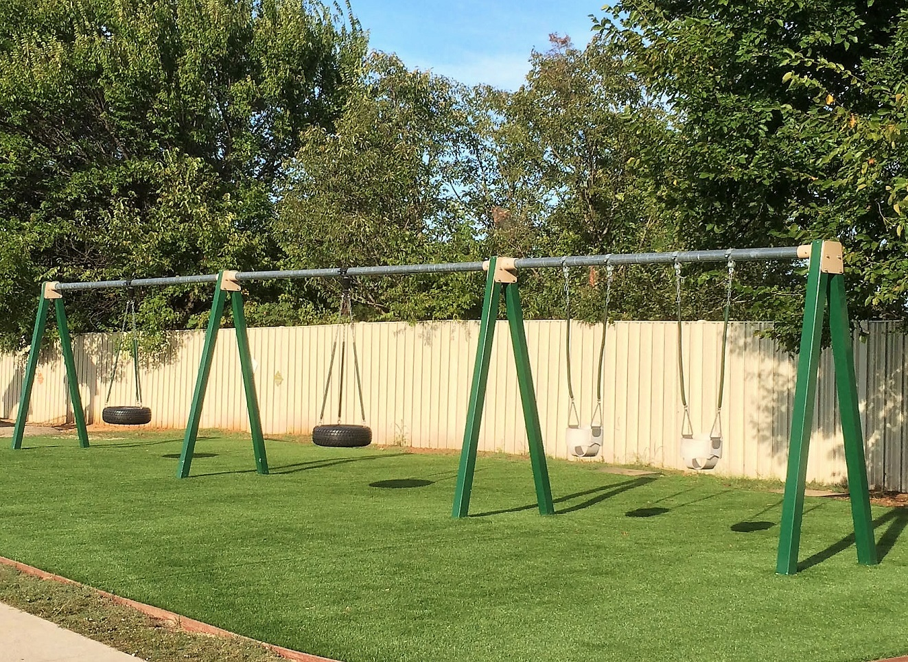 Playgound Artificial Turf in Oklahoma City