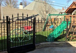 Synthetic Grass Playground in Broken Arrow