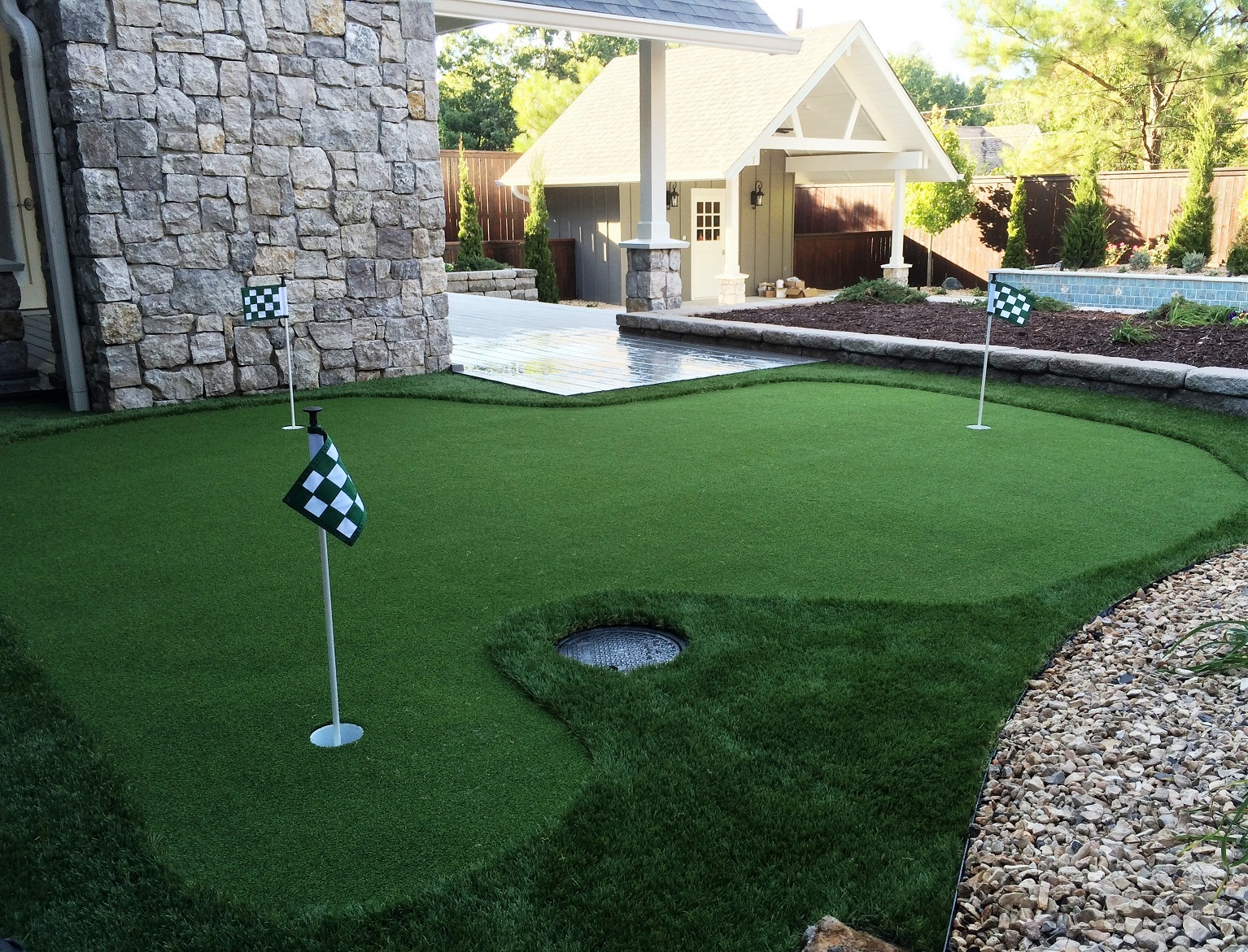 Artificial Putting Greens Grass