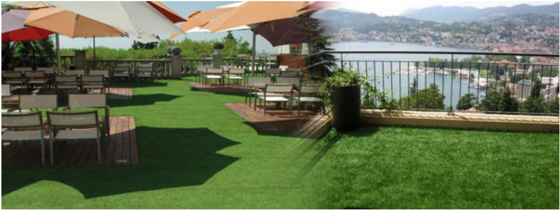 artificial grass balcony Give Your Lake Home Maintenance Free Artificial Grass