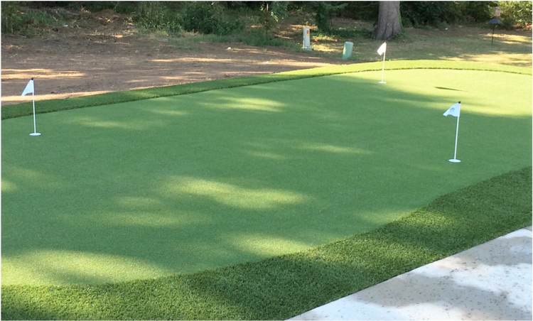 A NexGen Lawns Customized Synthetic Grass Putting Green Is The Perfect  Feature To Bring Entertainment And Value To Commercial Properties.