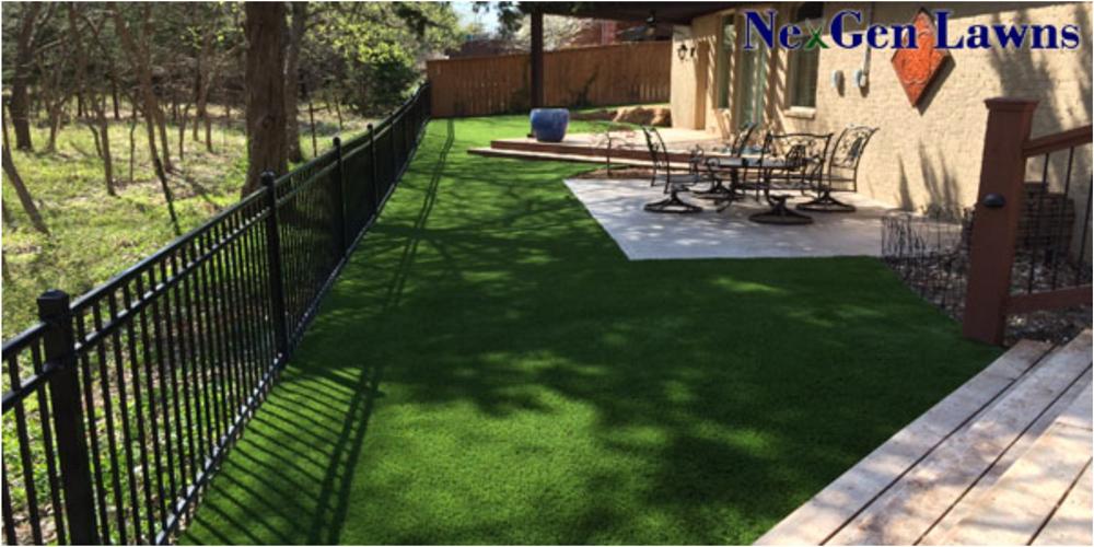 An Artificial Grass Patio Is Effortless U0026 Simple