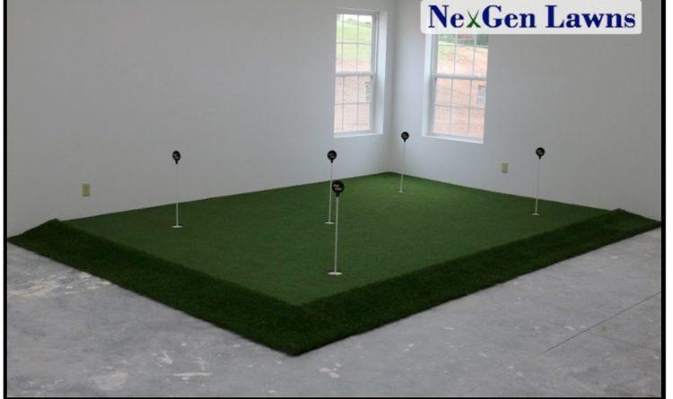 indoor practice putting green essential avid golfers