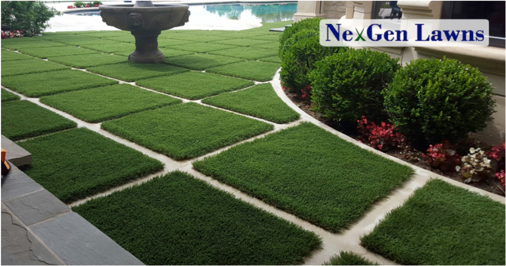 transform style suburban home urban synthetic grass
