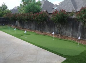 Backyard Putting Green Houston